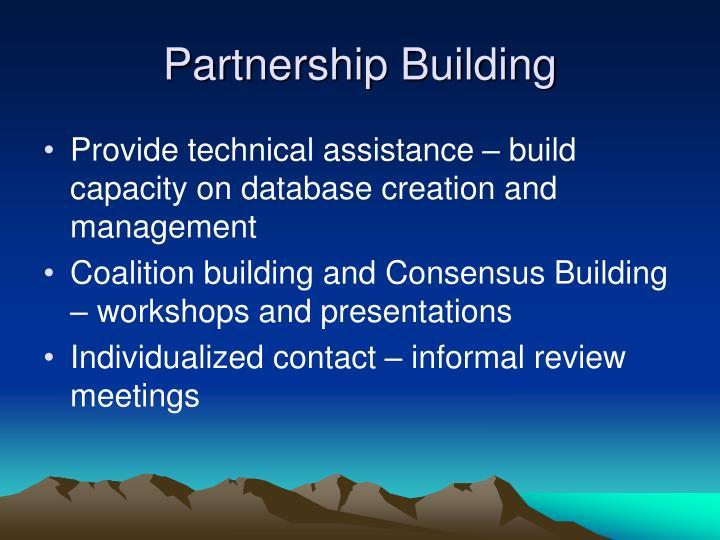 Partnership Building