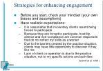 strategies for enhancing engagement