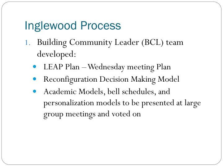 Inglewood Process