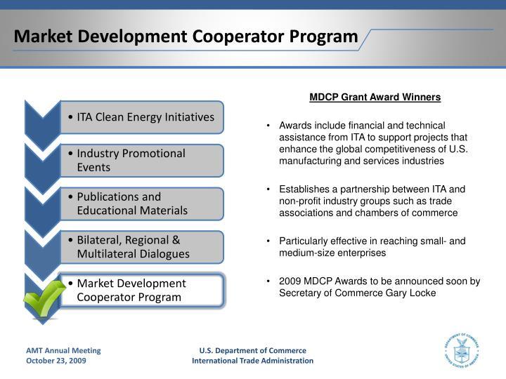 Market Development Cooperator Program