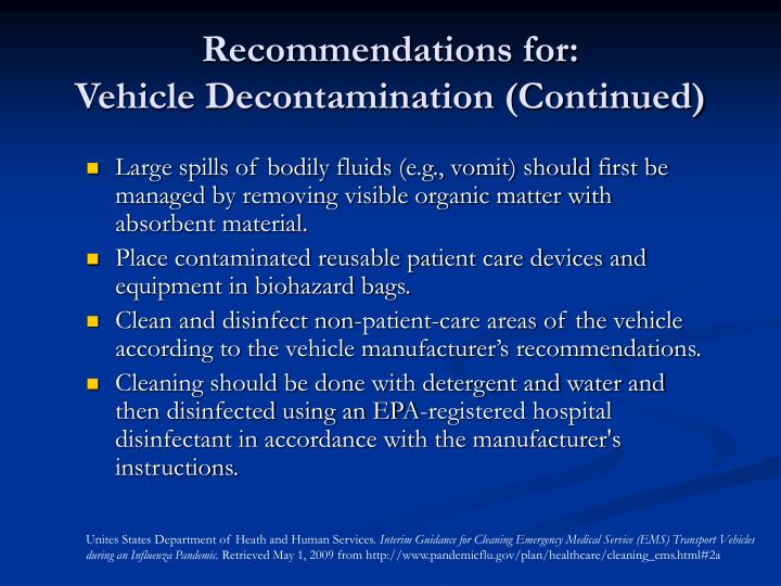 Recommendations for: