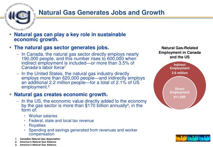 Natural Gas Generates Jobs and Growth