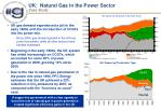 uk natural gas in the power sector case study