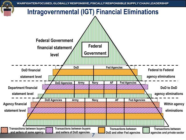 Intragovernmental (IGT) Financial Eliminations
