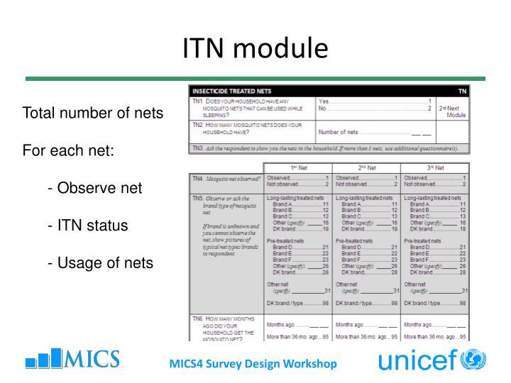 ITN module