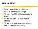 itb in 1995
