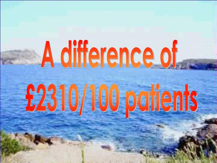 A difference of