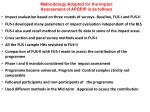methodology adopted for the impact assessment of apdpip is as follows