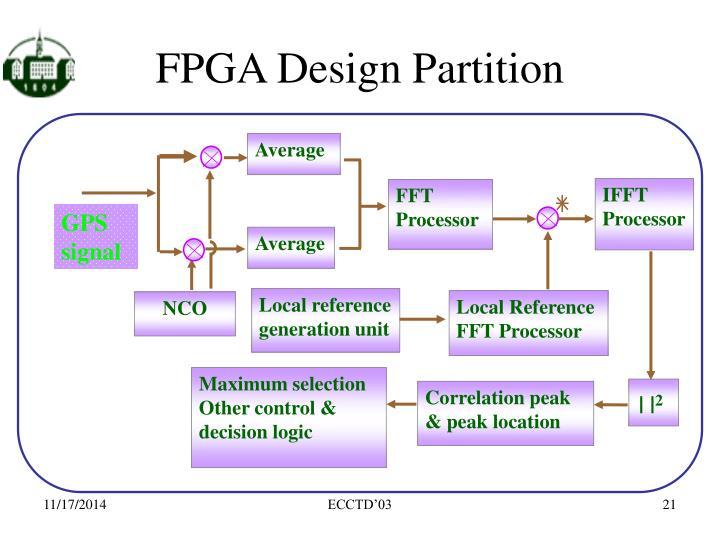 FPGA Design Partition