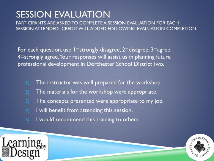 Session Evaluation