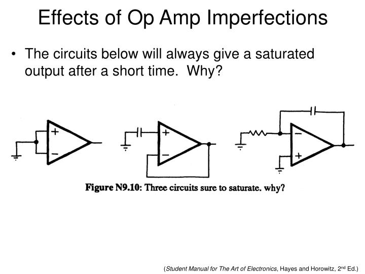 Effects of Op Amp Imperfections