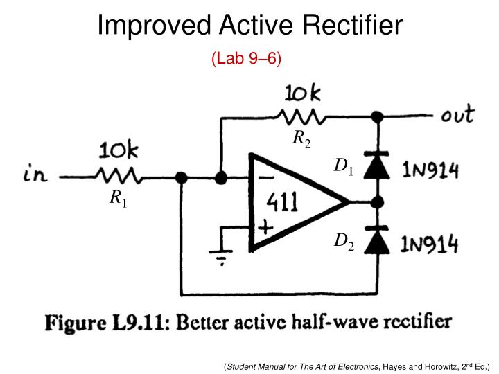 Improved Active Rectifier