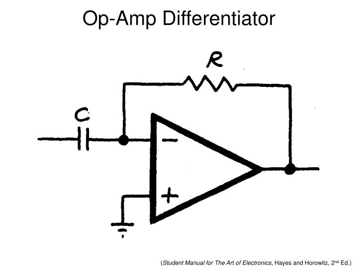 Op-Amp Differentiator