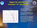 upper air soundings inverted v soundings