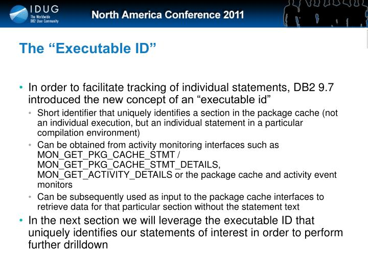 "The ""Executable ID"""