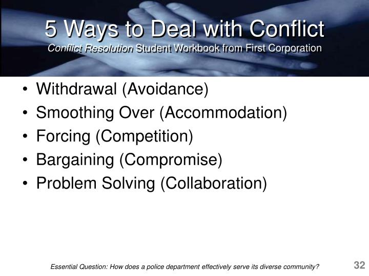 5 Ways to Deal with Conflict