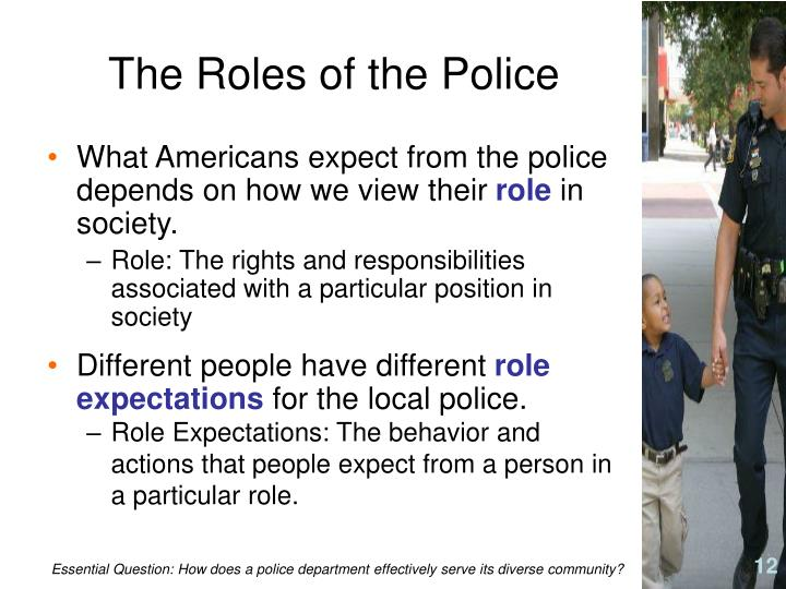 The Roles of the Police