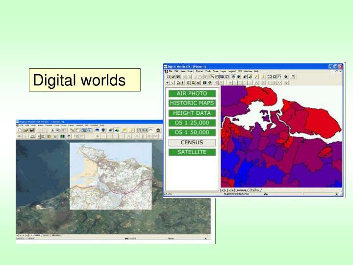 Digital worlds