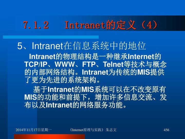 7.1.2   Intranet