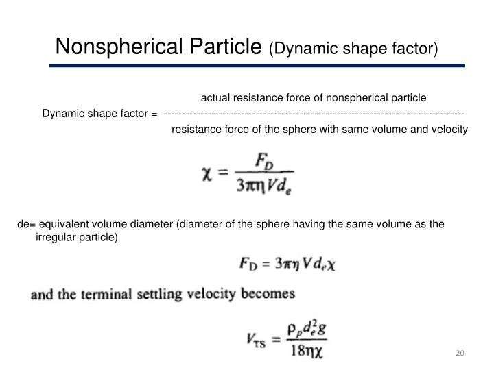 Nonspherical Particle