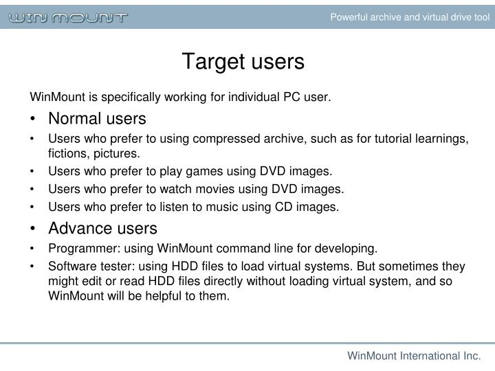 Powerful archive and virtual drive tool