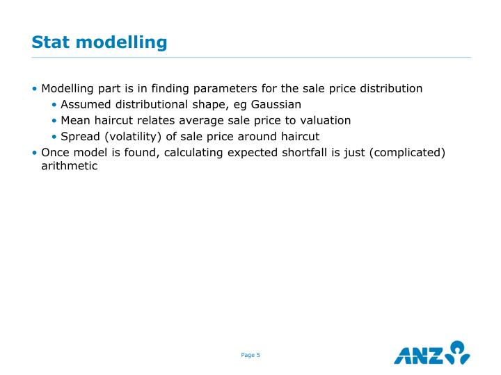 Stat modelling