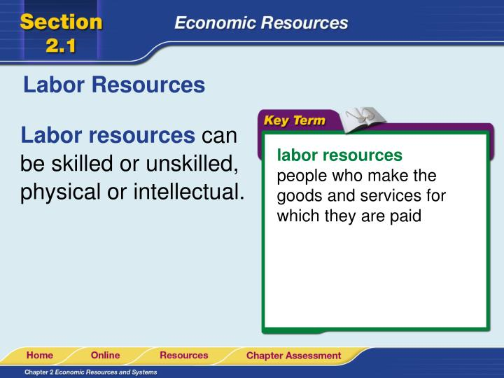 Labor Resources