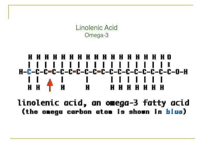 Linolenic Acid