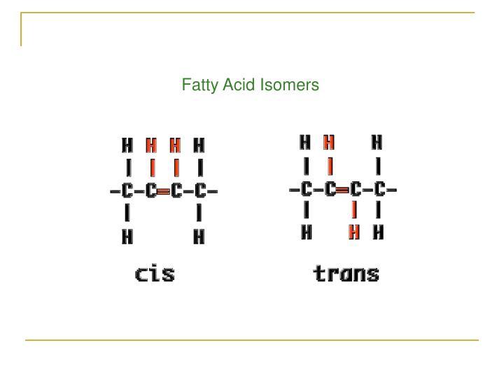 Fatty Acid Isomers