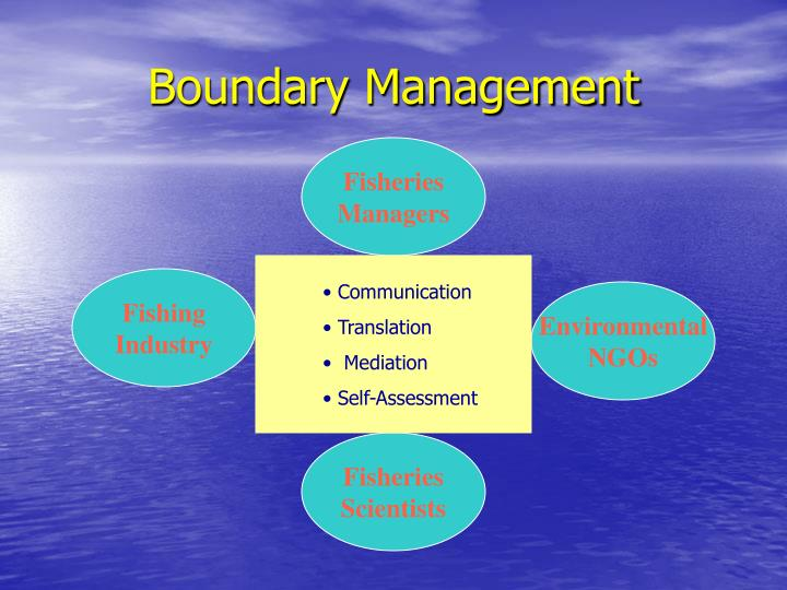 Boundary Management