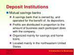 deposit institutions2