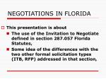 negotiations in florida1