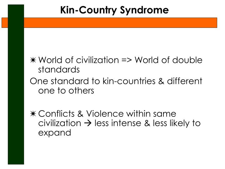 Kin-Country Syndrome