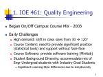 1 ioe 461 quality engineering