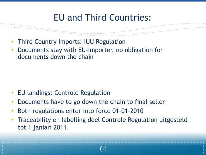 EU and Third Countries: