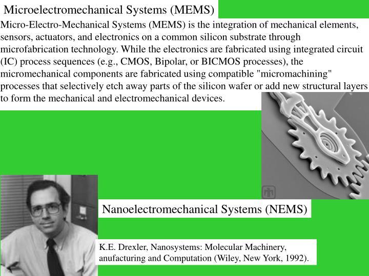 Microelectromechanical Systems (MEMS)