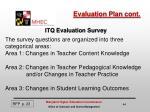evaluation plan cont1