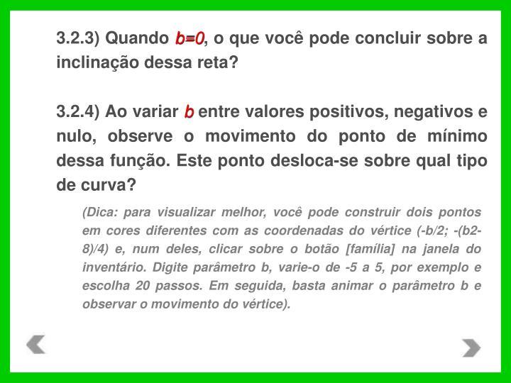 3.2.3) Quando