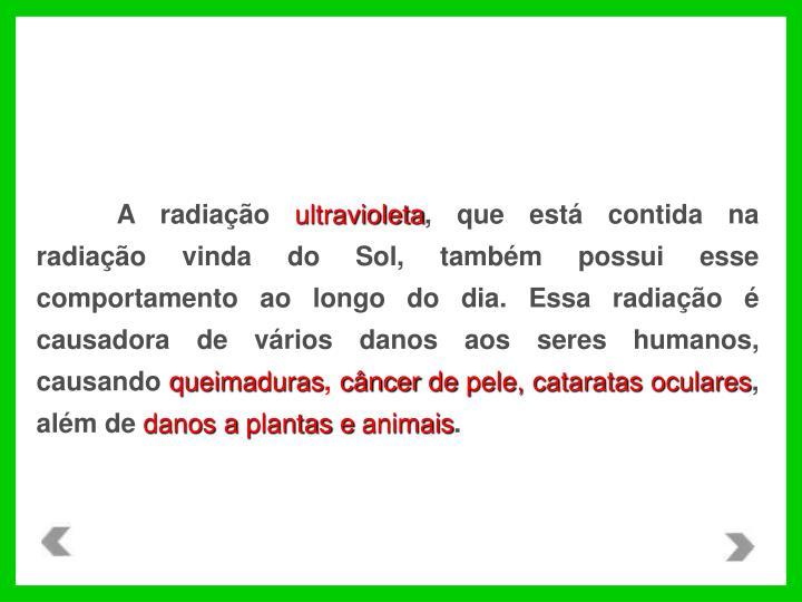 A radiação