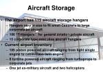 aircraft storage