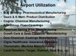 airport utilization