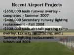 recent airport projects