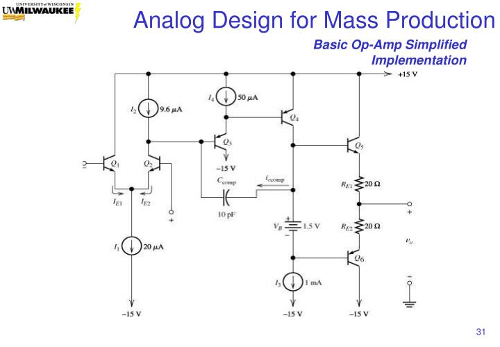 Basic Op-Amp Simplified