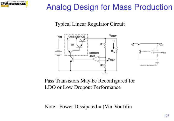 Typical Linear Regulator Circuit