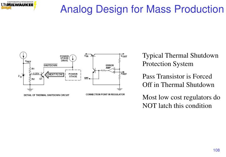 Typical Thermal Shutdown Protection System