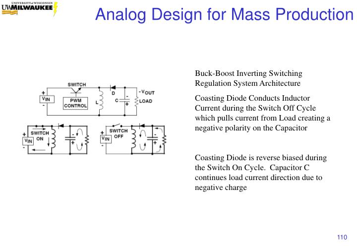 Buck-Boost Inverting Switching Regulation System Architecture