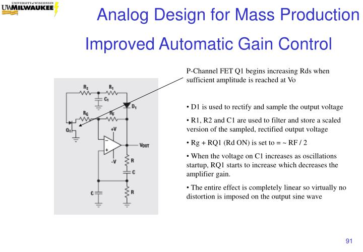 Improved Automatic Gain Control