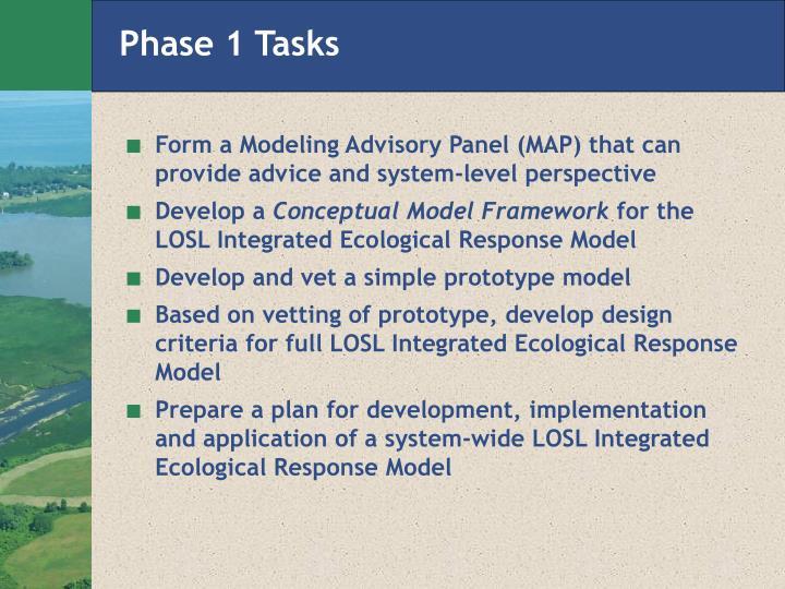 Phase 1 Tasks
