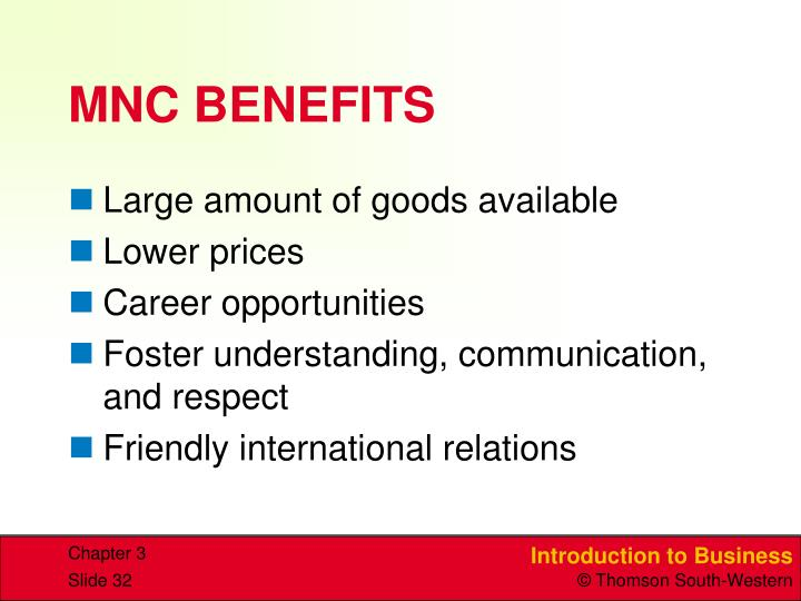 MNC BENEFITS