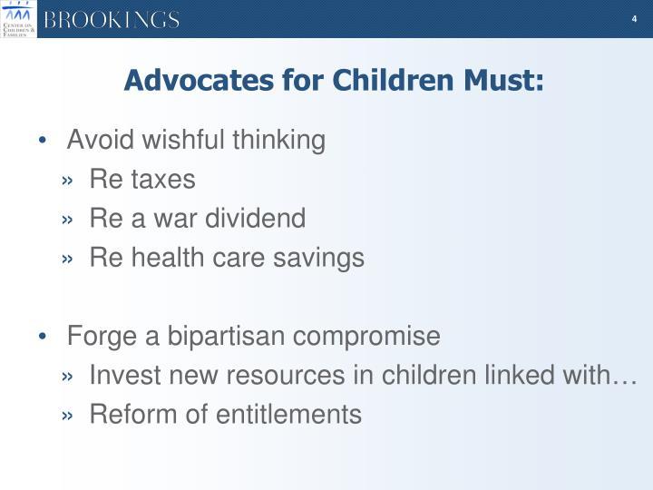 Advocates for Children Must: